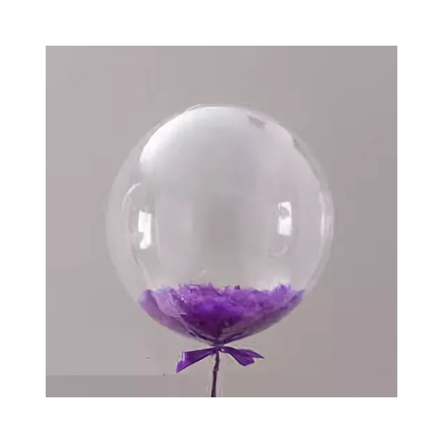 Bubble с пёрышками.
