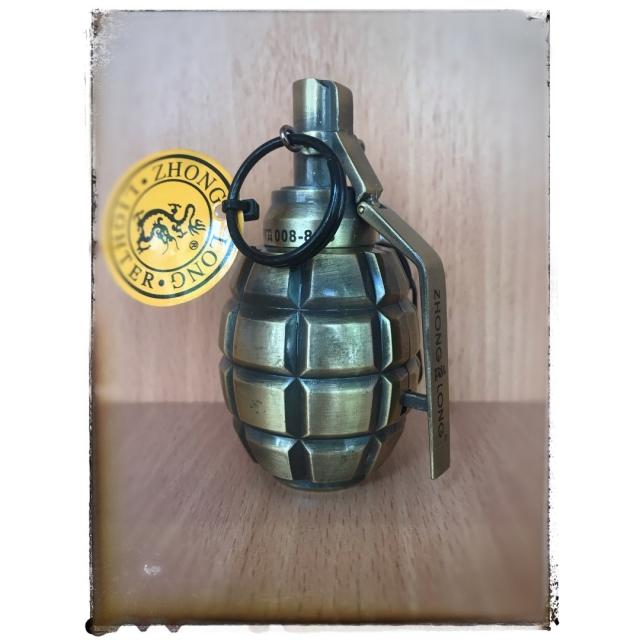 Зажигалка газовая - граната 2.