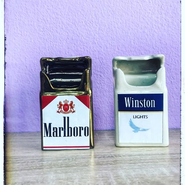 "Пепельница ""пачка сигарет""."
